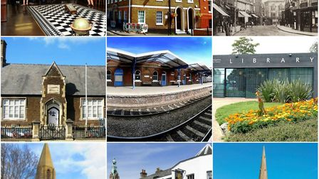 Some of the historic venues that will be open over the heritage weekend.