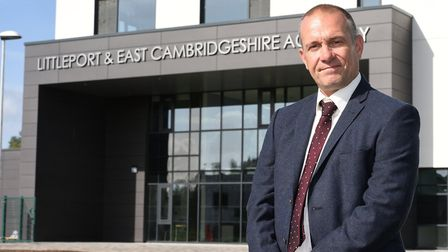 Opening of the new Littleport and East Cambs Academy. Scott Gaskins, head of school