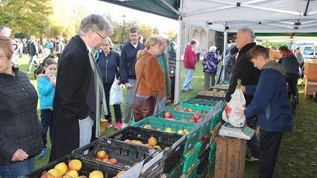 Apple Festival in Ely PHOTOS: Mike Rouse