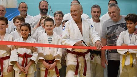 Brian Jacks was on hand to officially open Littleport Judo Club last weekend.