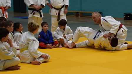 Jacks, who is best know for his appearances on Superstars, also hosted two Judo masterclasses.