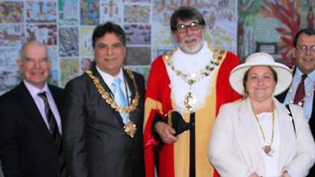 Mayor of Ely Richard Hobbs hosted the annual City of Ely Council civic service. PHOTO:Mike Rouse