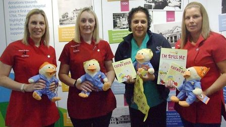 Staff at Wisbech St Mary pre school raise money to buy chemo ducks for children in the cancer ward a