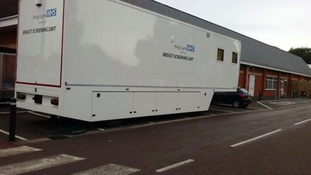 The breast screening van is coming to Wisbech Tesco on November 6 as part of a mammogram service co-