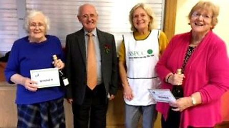 The Ely and District branch of the NSPCC raised £800 at the recent bridge day held at Sutton British