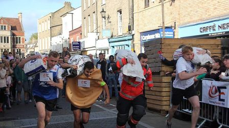 Action from the 2017 Ely Potato Race. Photo: Mike Rouse