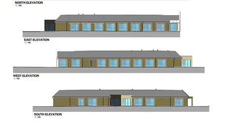 What the new building at the Littleport Grange could look like.