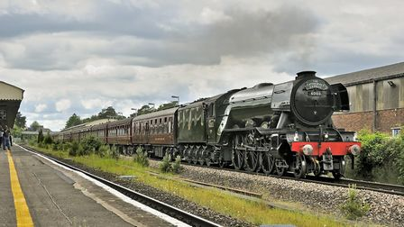 The Flying Scotsman was due to travel from Ely to Norwich on October 18 but broke down in Peterborou