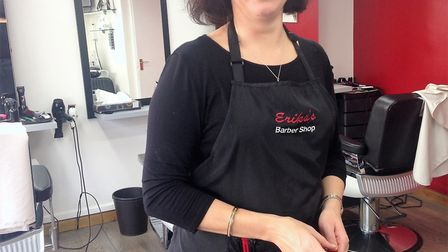 English language café to launch at Habis in Littleport. Pictured is Erika Urboniene, local businessw
