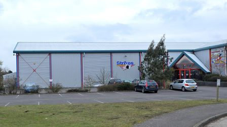 Strikes Bowling Alley, which will become the new Cambridgeshire Archives Centre in 2019.