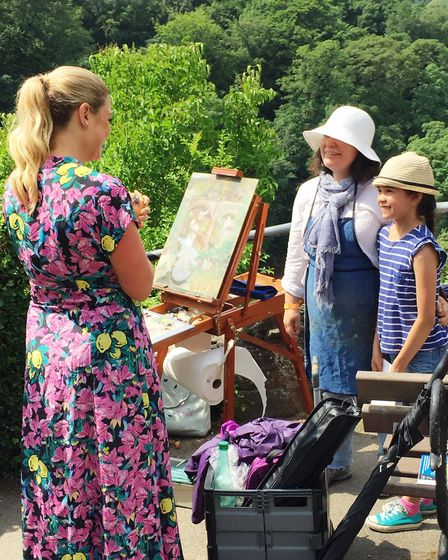 An Ely woman has won the wildcard round of Sky Arts' Landscape Artist of the Year competition. Judge