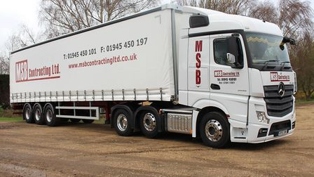 MSB Contracting is considering a reward after a break-in at the weekend at Guyhirn