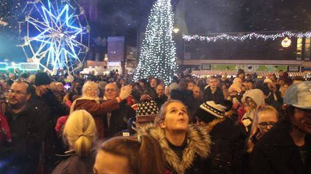 Last year's Christmas lights switch on in Ely was a big success - and this year's promises to be big
