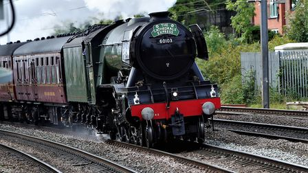 The Flying Scotsman heads through Ely this week, and enthusiasts are being warned to stay off the tr