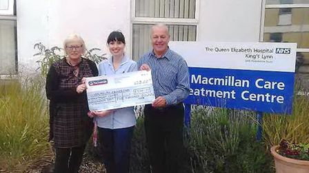 Charity fishing match rasies money for the Queen Elizabeth Hospital at King's Lynn Macmillan centre
