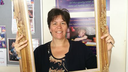 Sue Reeves is a volunteer involved in East Anglia's Children Hospices (EACH) 'Be a Name in our Frame