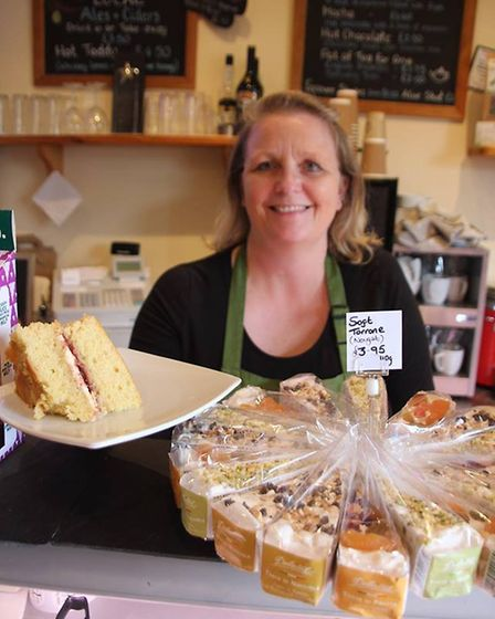 The Lemon Tree Deli in Ely raised money for Macmillan Cancer Support by holding a coffee morning on