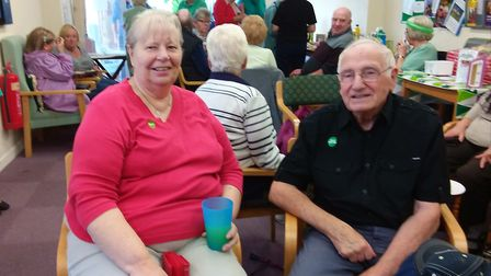 Nellie's Community Cafe held a coffee morning in aid of Macmillan.