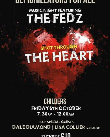 The Fedz perform at Whittlesey to raise funds for Defibrillators for All