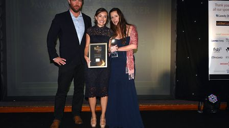 Fenland Enterprise Business Awards 2017: Natahsa Shiels of The Fens Magazine collects new business o