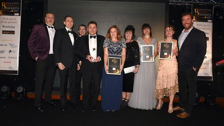 Fenland Enterprise Business Awards 2017: Winner and finalists in medium business of the year