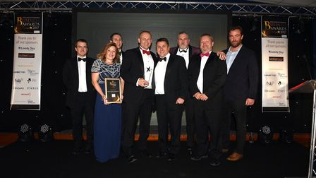 Fenland Enterprise Business Awards 2017: Winner of this year's business of the year is Precise Compo