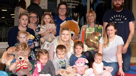 Story time and teddy bears picnic at Wisbech Tesco PHOTO: Ian Carter