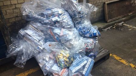 Raids across Wisbech, March and Peterborough uncover more than 240,000 cigarettes and 34.85 kilos of