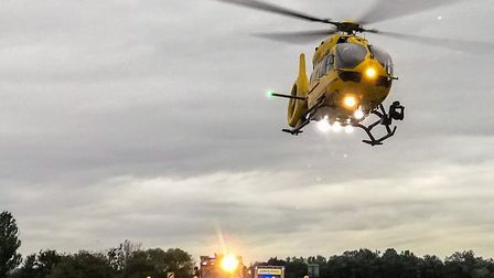 A man was seriously injured in a two-car collision on the A141 between Chatteris and Wimblington yes