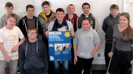Cromwell Community College students raise more than £1,000 for Jeans for Genes day