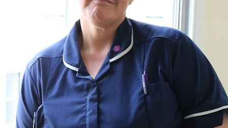 Heike Schaefer is end of life care facilitator at the Queen Elizabeth Hospital in King's Lynn.