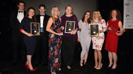 Ely Standard East Cambridgeshire Business Awards 2017: Employer of the Year winner Thorlabs Ltd and