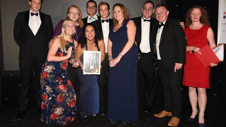 Ely Standard East Cambridgeshire Business Awards 2017: Employer of the Year winner Thorlabs Ltd
