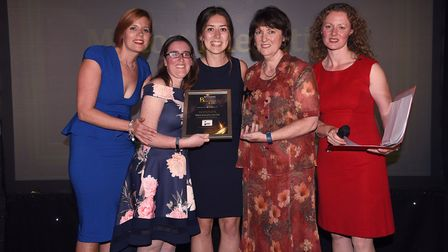 Ely Standard East Cambridgeshire Business Awards 2017: Business in the Community winner Milton Execu
