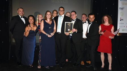 Ely Standard East Cambridgeshire Business Awards 2017: Medium Business of the Year winner, Thorlabs