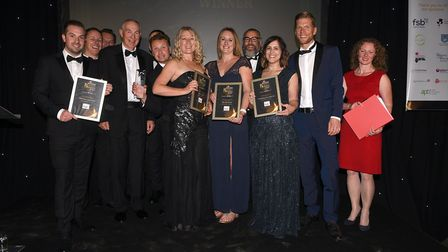 Ely Standard East Cambridgeshire Business Awards 2017: Small Business of the Year winner, Silver Oak