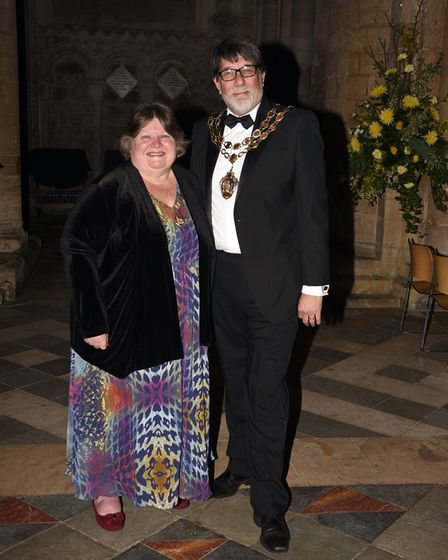 Ely Standard East Cambridgeshire Business Awards 2017: Mayor and Mayoress of Ely, Councillor Richard