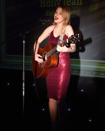 Ely Standard East Cambridgeshire Business Awards 2017: Holly Jean, entertainer.