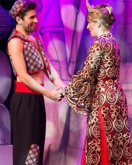 Join KD Theatre Productions on a magic carpet ride when they perform 'Aladdin' at The Broadway in Pe