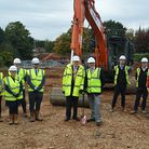 Groundbreaking ceremony for a new primary school in Stansted. Picture: ESSEX COUNTY COUNCIL