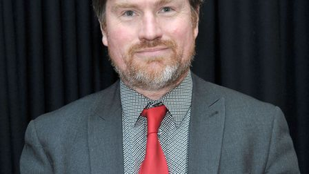 Cllr Martin Field, March Town Council. He has complained about an alleged racist remark made by Cllr