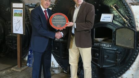 The Stretham Old Engine, used to pump water from the Fens for over a century, has won an Institution