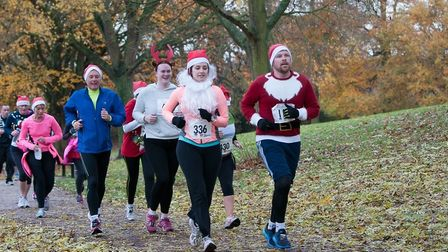 Runners are being encouraged to sign up for the Ely festive 5K run for the Arthur Rank Hospice