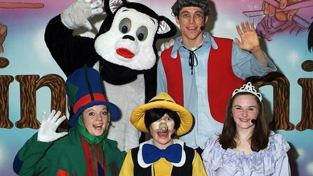 Children at Highfield School in Ely will be treated to a theatre performance of Pinocchio when M&M P