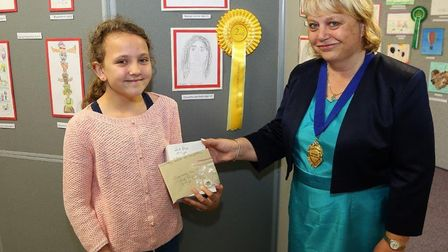 Schools showcase artistic talent at Whittlesey Festival. Junior second place: Charlotte Sao Pedro, N