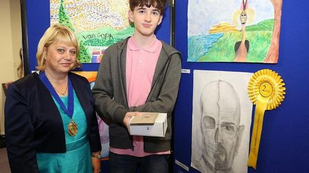 Schools showcase artistic talent at Whittlesey Festival. Senior second place: Jack Dryland.
