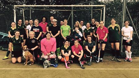 Ely City Hockey Club's annual President's Day raised £485 towards the club's pitch replacement fund.