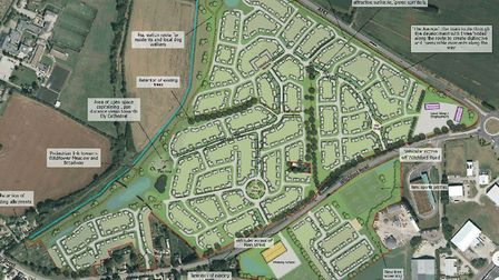Plans for 720 homes near Witchford have were rejected by East Cambridgeshire District Council's plan