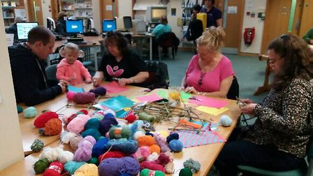 Ely and Littleport Time Bank weaving