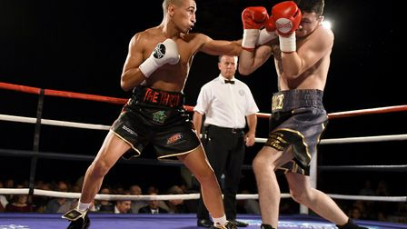 Jordan Gill eased to victory in his last fight - and he hopes to do the same this weekend in Derby.